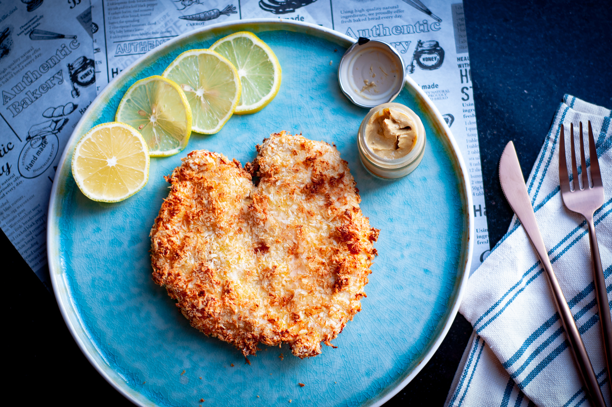 Air Fried Chicken Schnitzel Kitchenmess